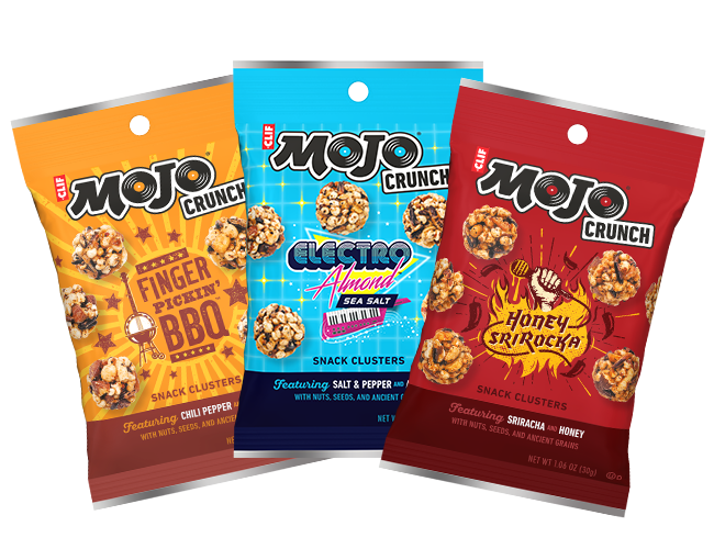 CLIF MOJO CRUNCH VARIETY 6-PACK packaging