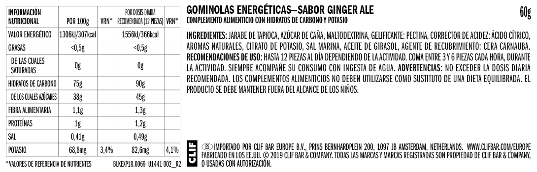 Ginger Ale Nutritional Facts