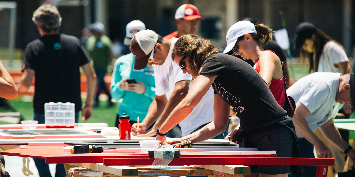 Clif Bar's Community Volunteering Hits 100,000 Hours