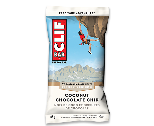 Coconut Chocolate Chip packaging