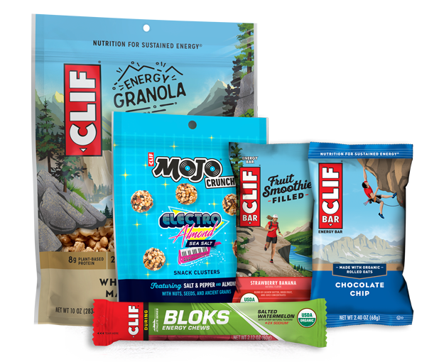 CLIF 5 FOR $5 SAMPLE BOX packaging