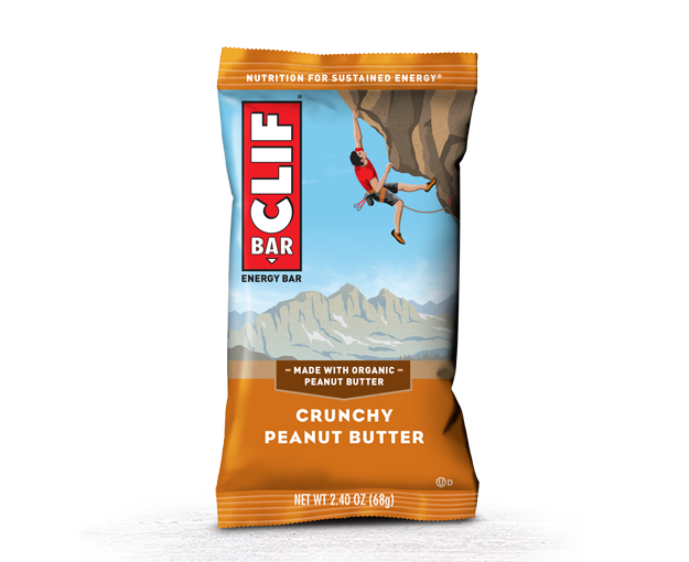 Chocolate Chip Clif Bar Nutrition