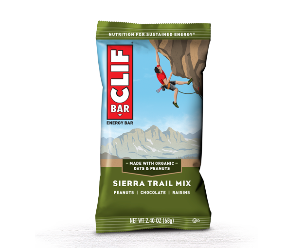 Sierra Trail Mix packaging