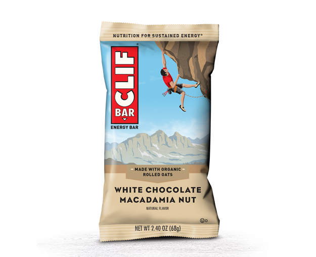CLIF BAR®: White Chocolate Macadamia Nut Flavor