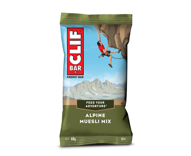 Alpine Muesli Mix packaging
