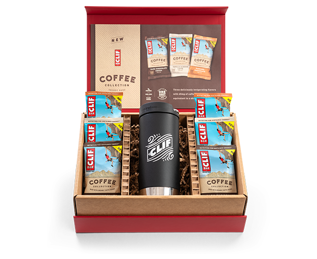 CLIF Bar Coffee Collection Gift Set packaging