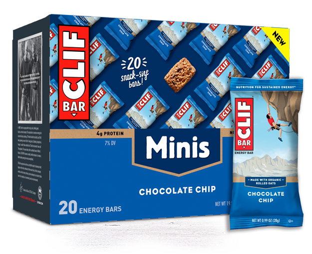 Chocolate Chip Minis packaging