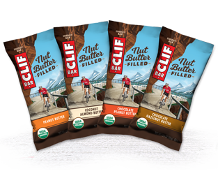 CLIF NUT BUTTER FILLED VARIETY 16-PACK packaging