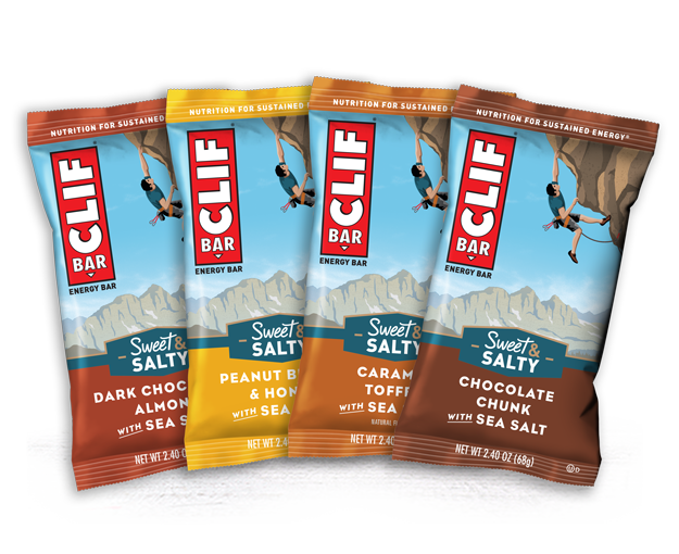 CLIF SWEET & SALTY VARIETY 12-PACK packaging