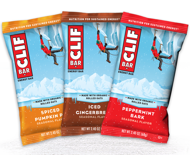CLIF Bar Seasonal Flavor Variety Pack packaging