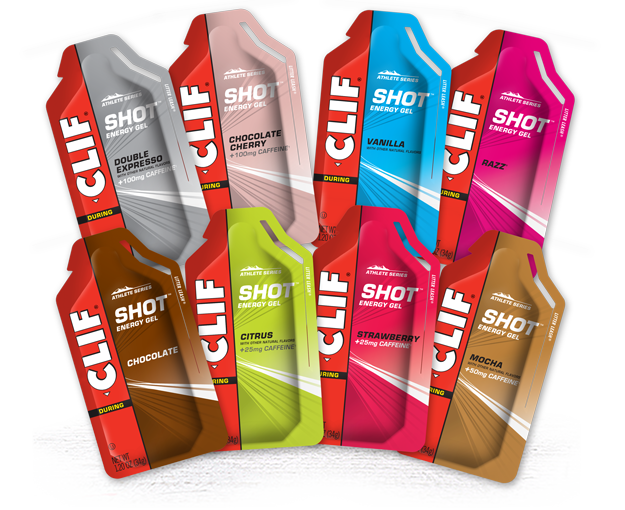 CLIF SHOT Energy Gel Variety Pack packaging