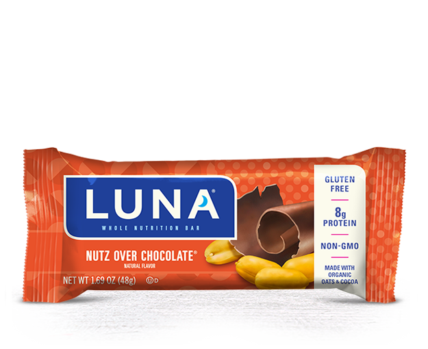 Nutz Over Chocolate® Flavor packaging