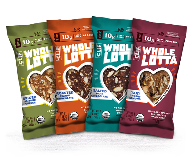 CLIF Whole Lotta Variety Pack packaging