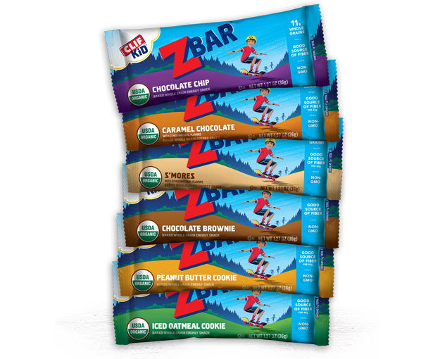 CLIF Kid Trial Variety Pack 18 Bars packaging