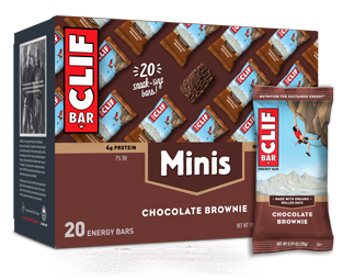 Chocolate Brownie Minis packaging