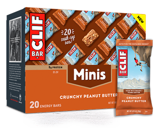 Crunchy Peanut Butter Minis packaging