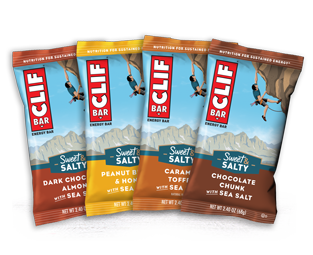 CLIF Sweet & Salty Variety Pack packaging
