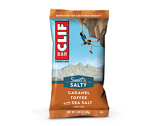 Caramel Toffee with Sea Salt Flavor packaging