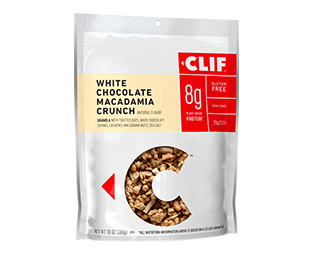 White Chocolate Macadamia Crunch Flavor packaging