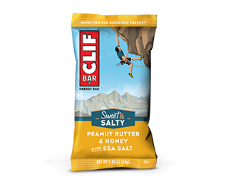 Peanut Butter & Honey with Sea Salt packaging