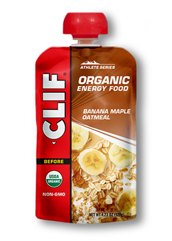 Banana Maple Oatmeal packaging