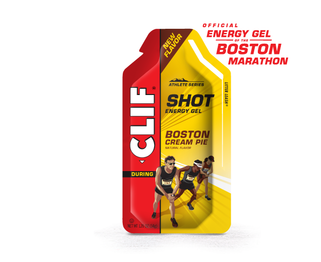 Image of Boston Cream Pie CLIF SHOT Gel