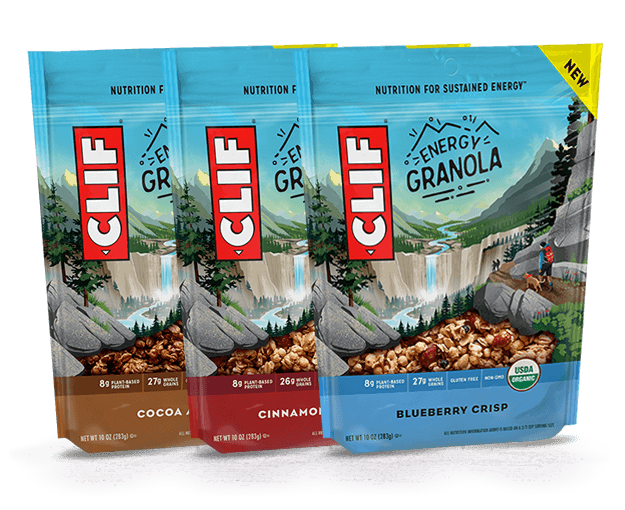 CLIF Organic Energy Granola Variety Pack  packaging
