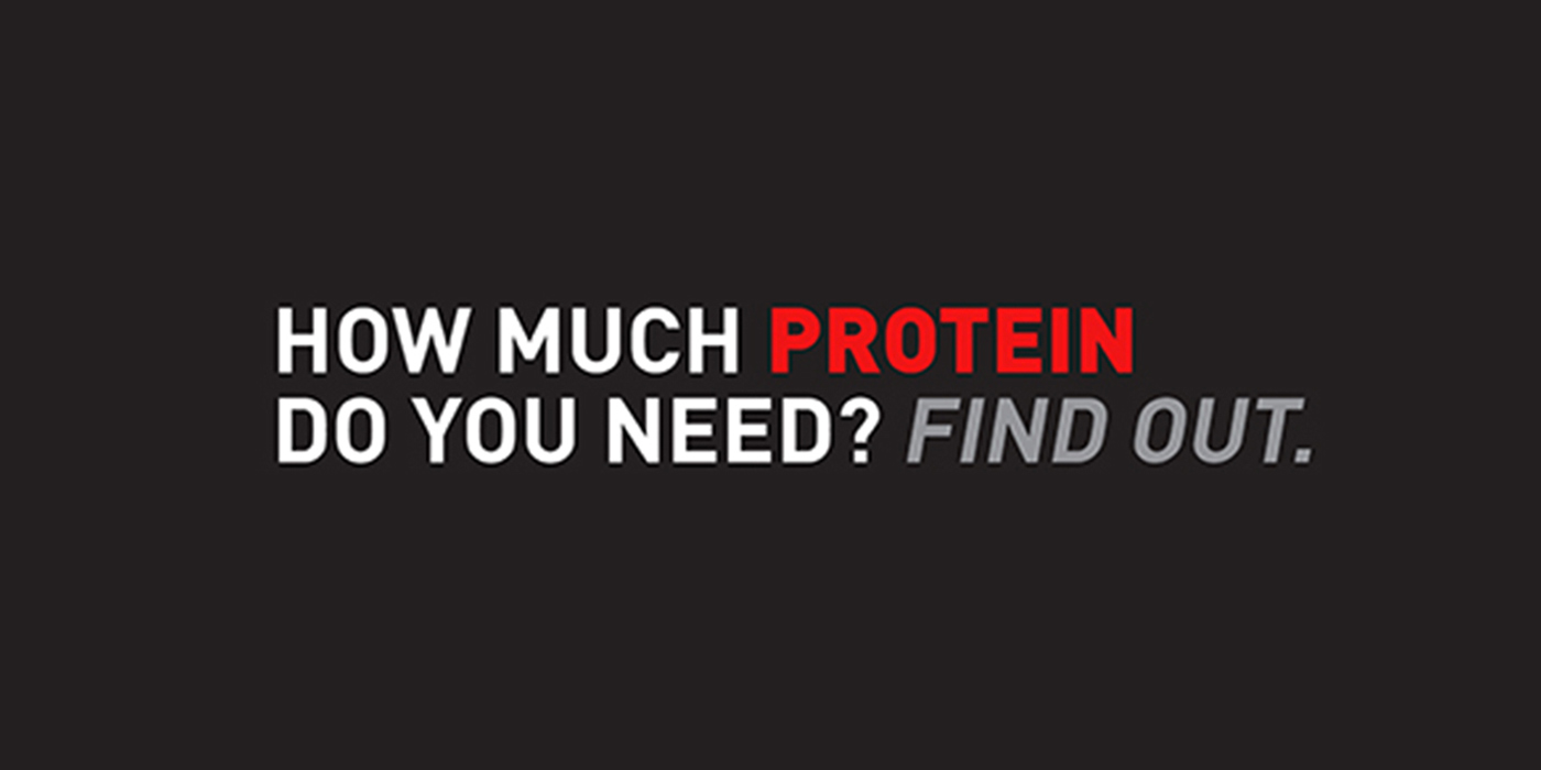 CLIF Builder's® Protein Calculator