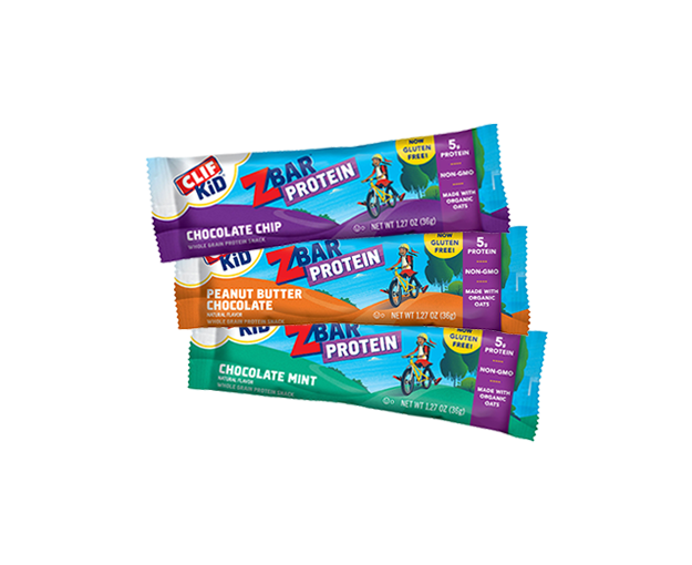 CLIF KID ZBAR PROTEIN VARIETY 9-PACK packaging