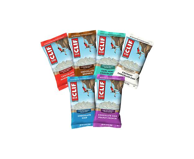 CLIF BAR CHOCOLATE LOVER'S VARIETY 12-PACK packaging