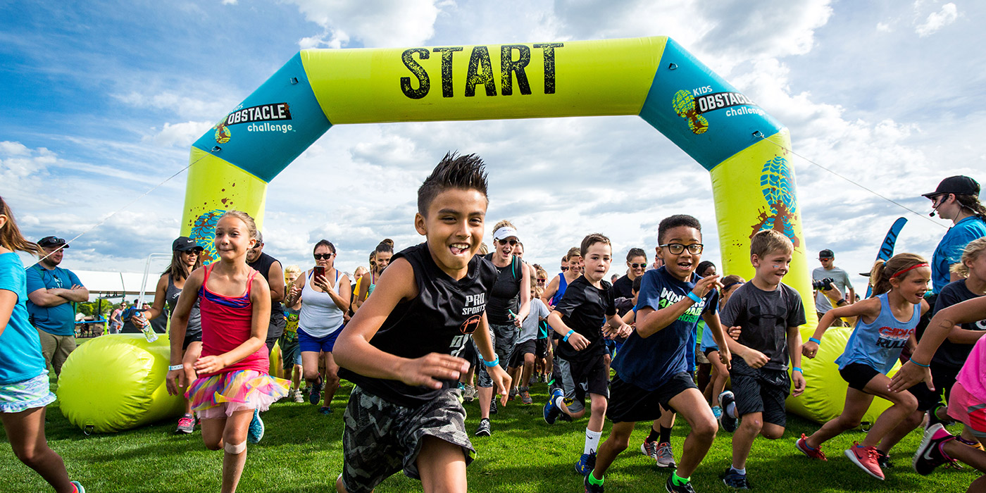 Kids Obstacle Challenge header image