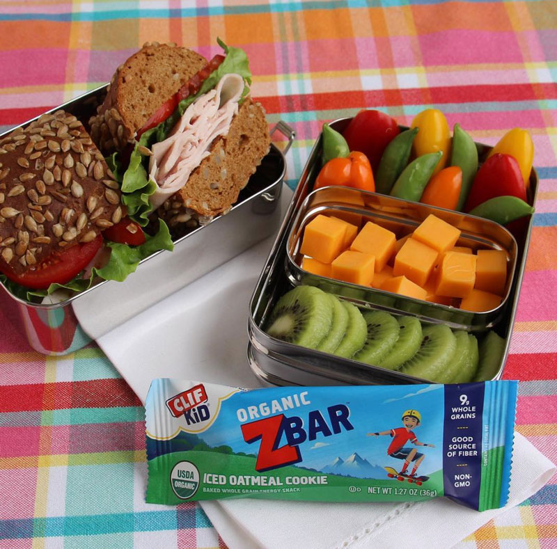 CLIF Kid Zbar in Lunchbox